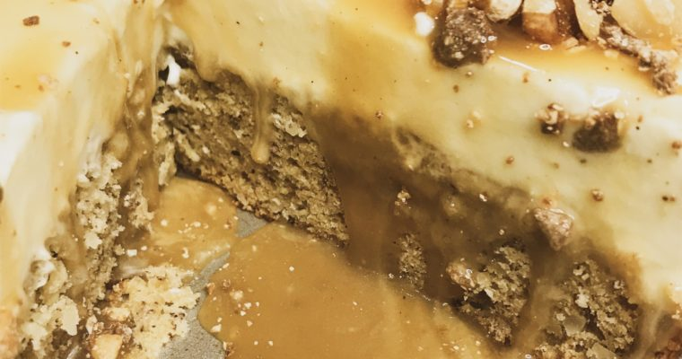 Banana Bread Cheesecake